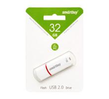32GB USB CROWN (SB32GBCRW-W) белый SMARTBUY