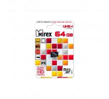 64GB microSDXC Class10 UHS-I без адаптера MIREX