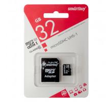 32GB microSDHC Class10 UHS-I (SB32GBSDCL10-01) SMARTBUY