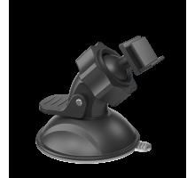 Держатель видеорегистратора BC01 (на присоске) черный ТЕХПАК
