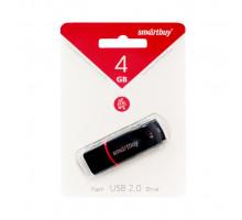 4GB USB CROWN (SB4GBCRW-K) черный SMARTBUY