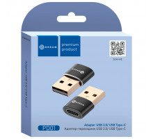 Адаптер-переходник USB — TYPE-C PD01 черный DREAM