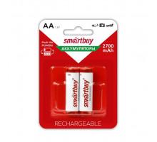 Аккумулятор R06 AA 2700 mAh 2BL (SBBR-2A02BL2700) (2 ШТ) SMARTBUY