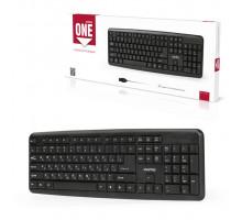 Клавиатура ONE SBK-112U-K черный SMARTBUY