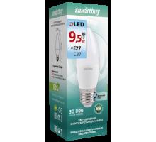 Светодиодная лампа C37-9,5W/4000/E27 дневной свет SMARTBUY