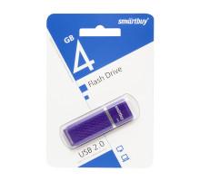 4GB USB QUARTZ (SB4GBQZ-V) фиолетовый SMARTBUY
