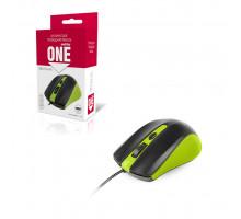 Мышь ONE SBM-352-GK зеленый SMARTBUY