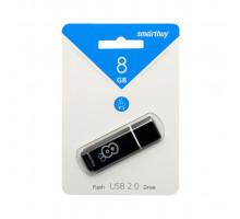 8GB USB GLOSSY (SB8GBGS-K) черный SMARTBUY