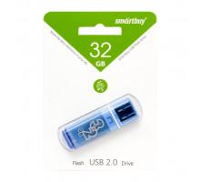32GB USB GLOSSY (SB32GBGS-B) синий SMARTBUY
