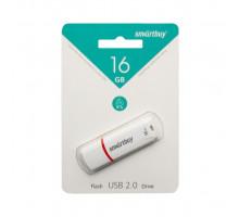 16GB USB CROWN (SB16GBCRW-W) белый SMARTBUY
