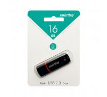 16GB USB CROWN (SB16GBCRW-K) черный SMARTBUY