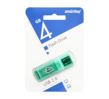 4GB USB GLOSSY (SB4GBGS-G) зеленый SMARTBUY