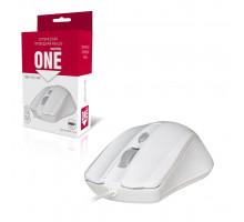 Мышь ONE SBM-352-WK белый SMARTBUY