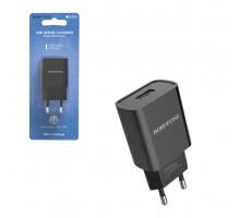 ЗУ BA20A USB 2.1A черный BOROFONE (ORIG)