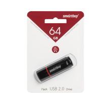 64GB USB CROWN (SB64GBCRW-K) черный SMARTBUY