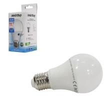 Светодиодная лампа A60-11W/6000/E27 холодный свет SMARTBUY