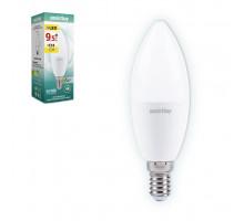 Светодиодная лампа C37-9,5W/4000/E14 дневной свет SMARTBUY