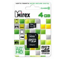 4GB microSDHC Class10 (13613-AD10SD04) MIREX