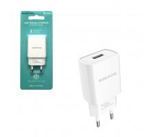 ЗУ BA20A USB 2.1A белый BOROFONE (ORIG)